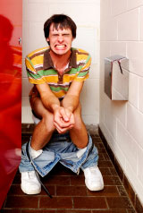 Constipation causes straining on the toilet and that can cuase hemorrhoids